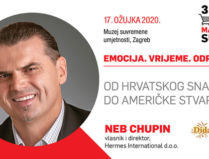 Neb Chupin na trećem FMCG Marketing Summitu!