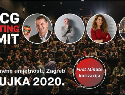 Saznajte kako do svoje First minute kotizacije za 3. FMCG Marketing Summit 2020.